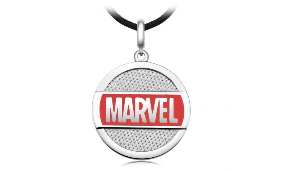 周大福「 Marvel」系列 Marvel logo吊墜(連頸繩)