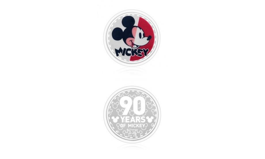 周大福│迪士尼「米奇90周年」系列米奇純銀銀章