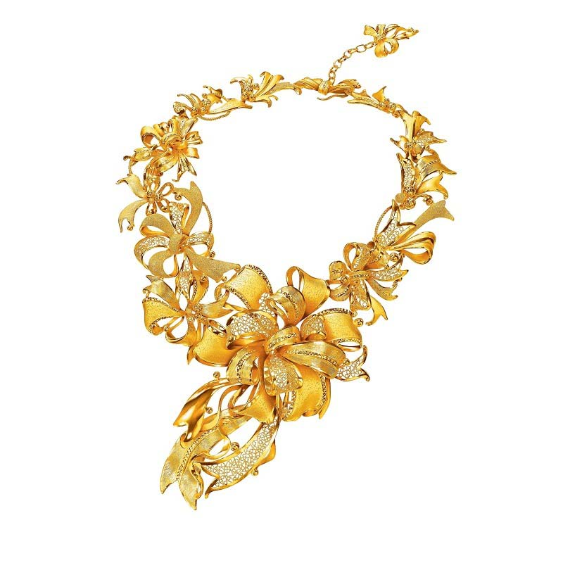 Wonderful New Gold Necklace Ideas - Jewelry Collection Ideas ...